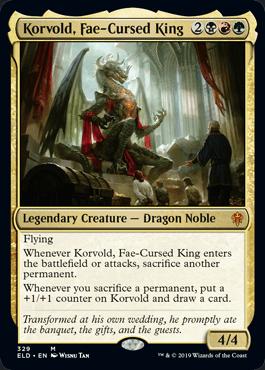 フェイに呪われた王、コルヴォルド