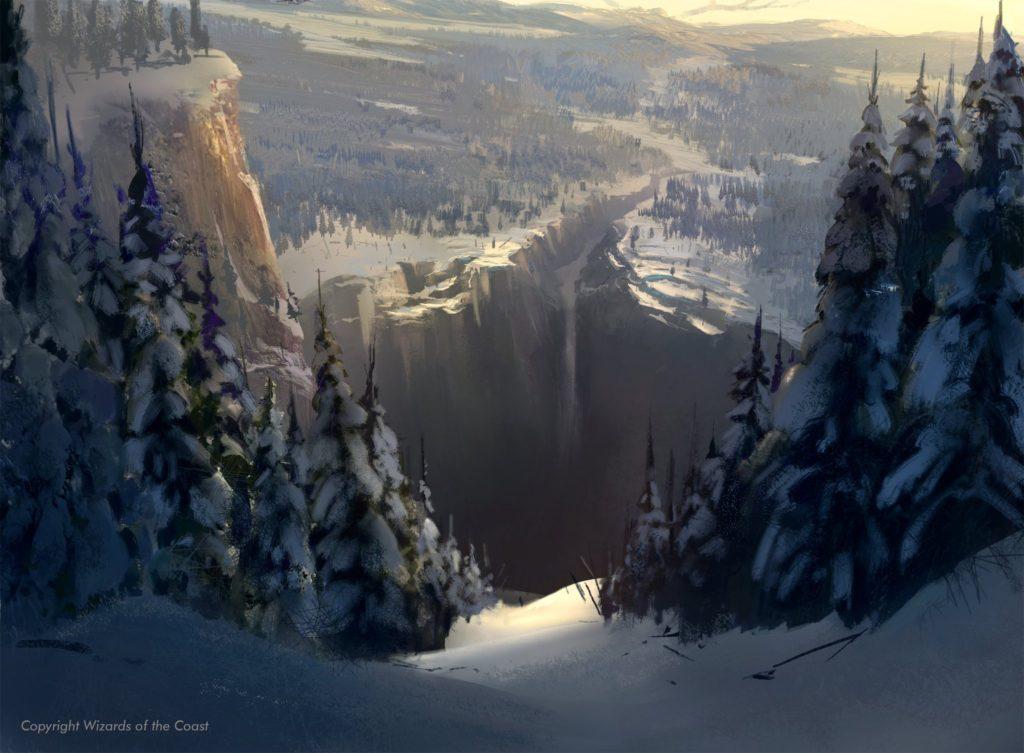 カルドハイム 雪山