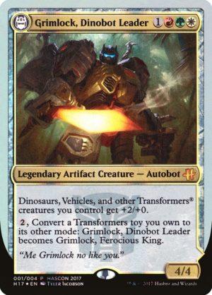 Grimlock, Dinobot Leader